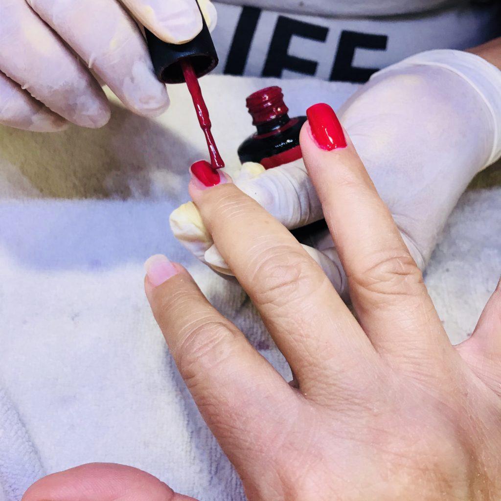 Fingernägel im Urlaub - Claudias Welt
