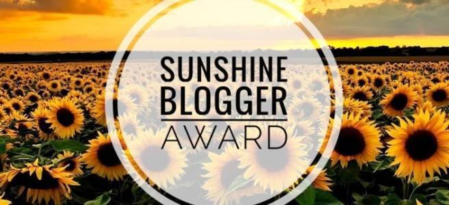 Titelbild Sunshine Blogger Award
